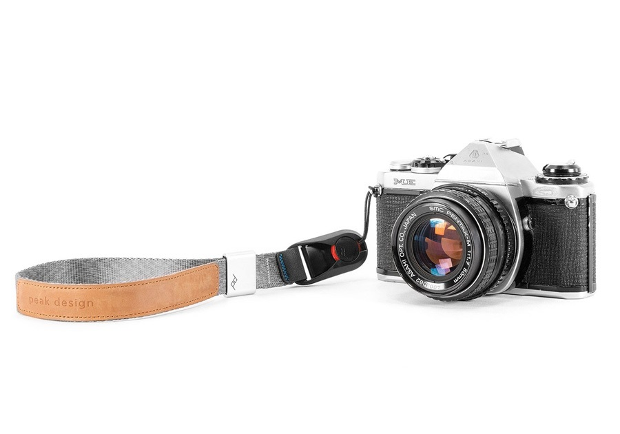 Peak Design Cuff Quick Connecting Camera Wrist Strap, Ash