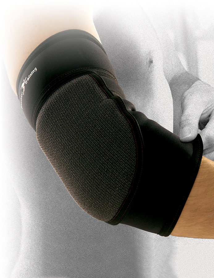 Precision Neoprene Padded Elbow Support M Black
