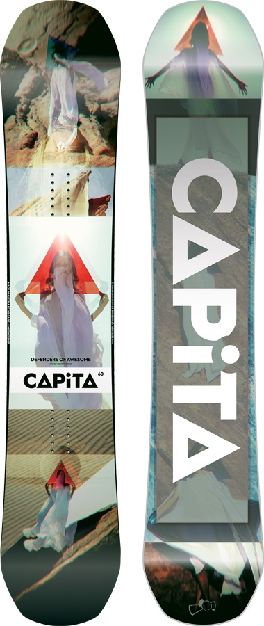 Capita DOA - Defenders Of Awesome Hybrid Camber Snowboard, 160cm 2018