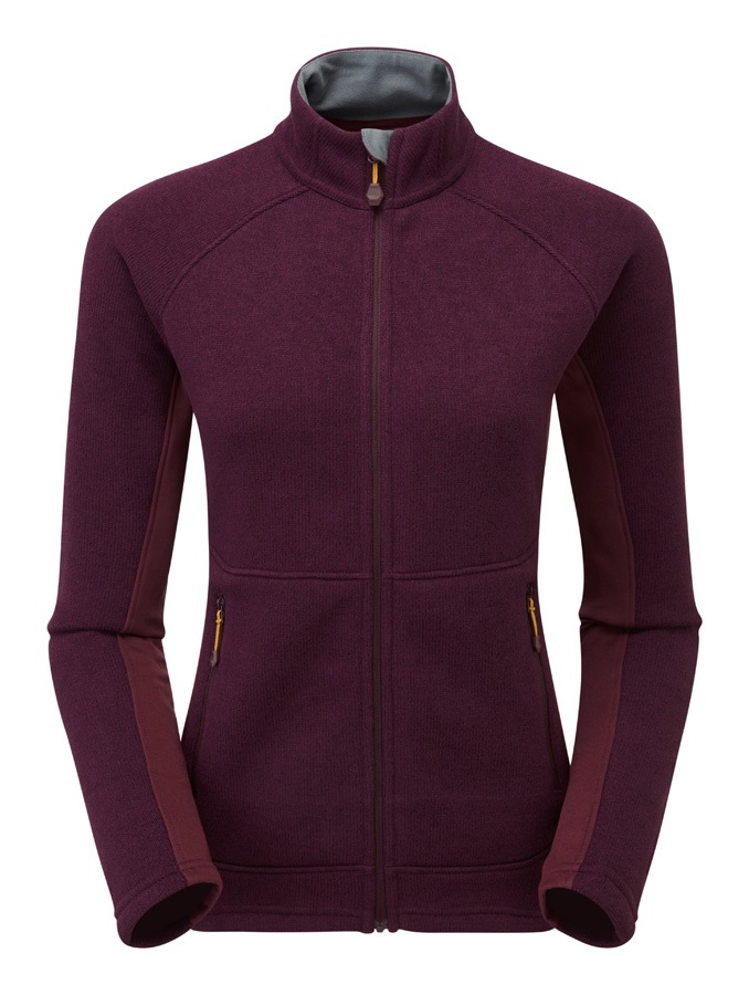 Montane Neutron Polartec Women's Full-Zip Fleece Jacket, M Berry