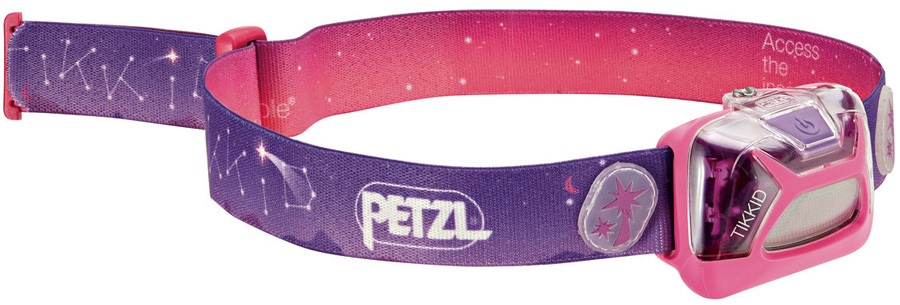 Petzl Tikkid Children's Headtorch, 20 Lumens Pink