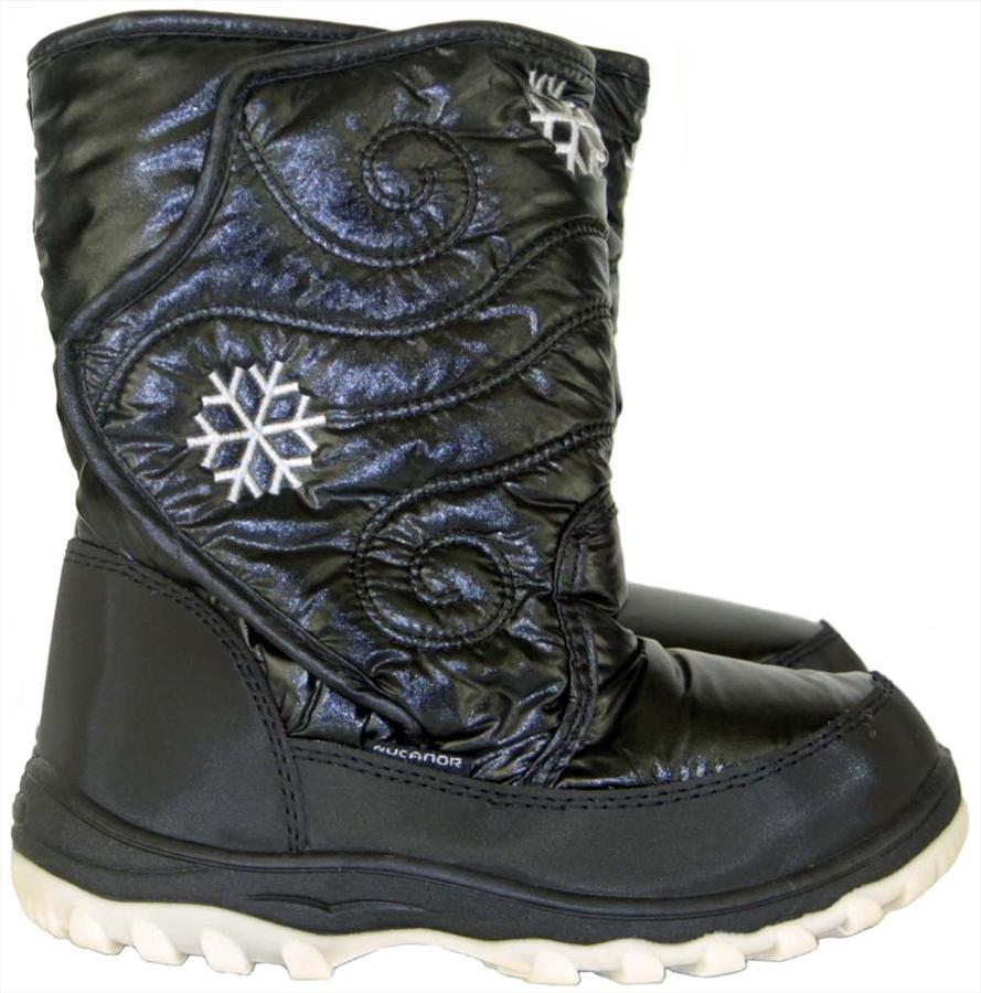 Rucanor Snowfun Kid's Snow Boots EU 28/UK Infant 10 Black