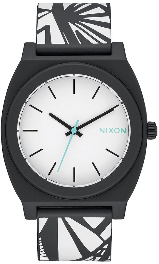 Nixon Time Teller P Men's or Womens Wrist Watch, Black/Bleach