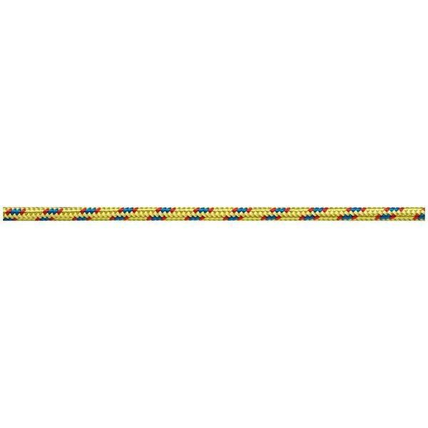 Beal 4mm Static Cordelette Rock Climbing Accessory Cord, 7m, Yellow