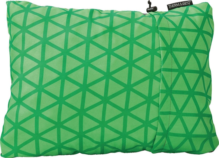 ThermaRest Compressible Travel Pillow Camping Pillow, XL Clover