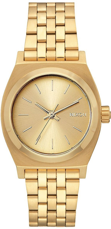 Nixon Medium Time Teller Women's Watch, One Size, All Gold