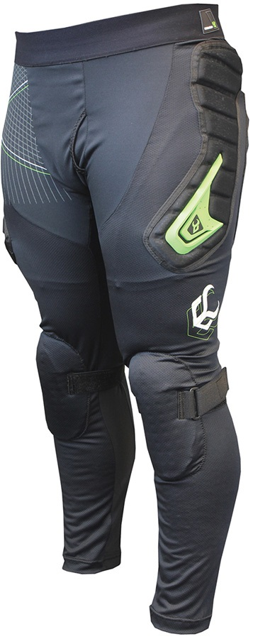 Demon Flex Force X D3O V3 Snowboard/Ski Impact Pants, XL Black