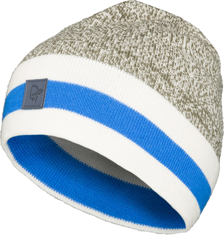 00e92215d4402 Norrona  29 Marl Knit Stripe Merino Wool Winter Beanie
