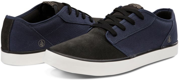 Volcom Grimm 2 Skate Shoes UK 12 Midnight Blue