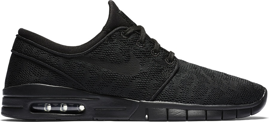 3213d85a0a Nike SB Stefan Janoski Max Men's Skate Shoes, UK 7.5 Black/Black