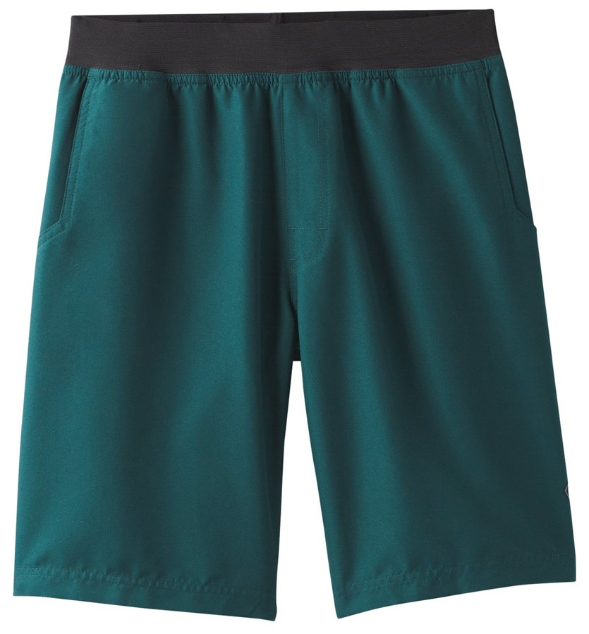 Prana Adult Unisex Mojo Rock Climbing Shorts - L, Highland Green