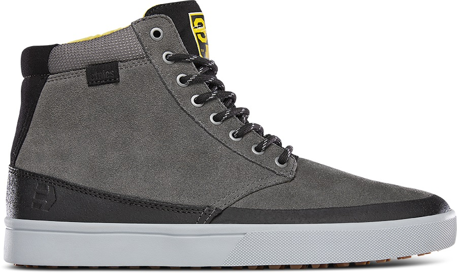 Etnies Jameson HTW X 32 Winter Boots, UK 10 Grey/Black/Yellow
