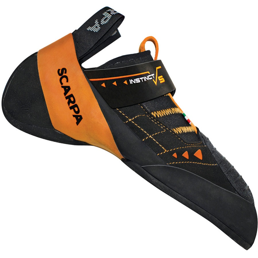 Scarpa Instinct VS Rock Climbing Shoe, UK 2.5 | EU 35 Black