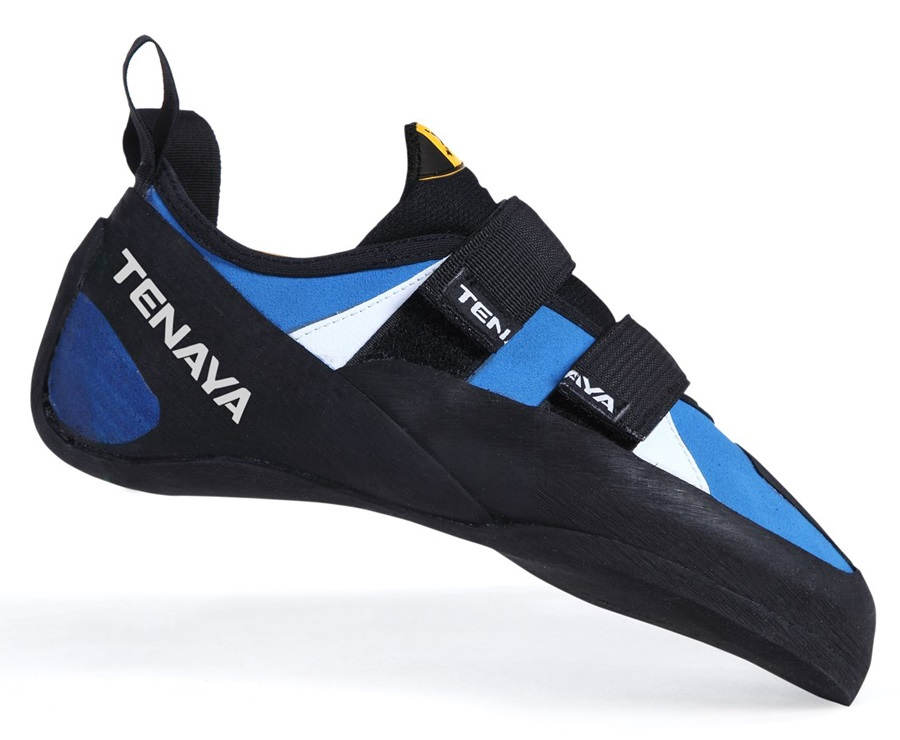 Tenaya Tanta Rock Climbing Shoe: UK 9 | EU 43.2, Blue/White/Black