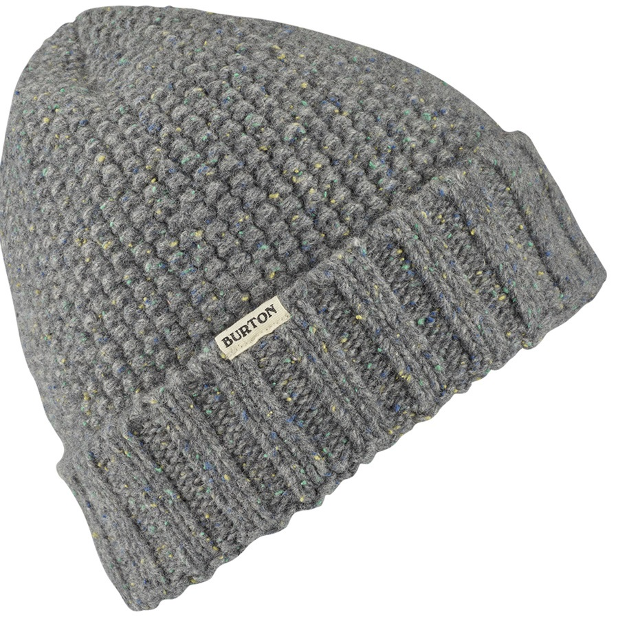 2add430a312 Burton Stoneground Wool Fold Up Ski Snowboard Beanie