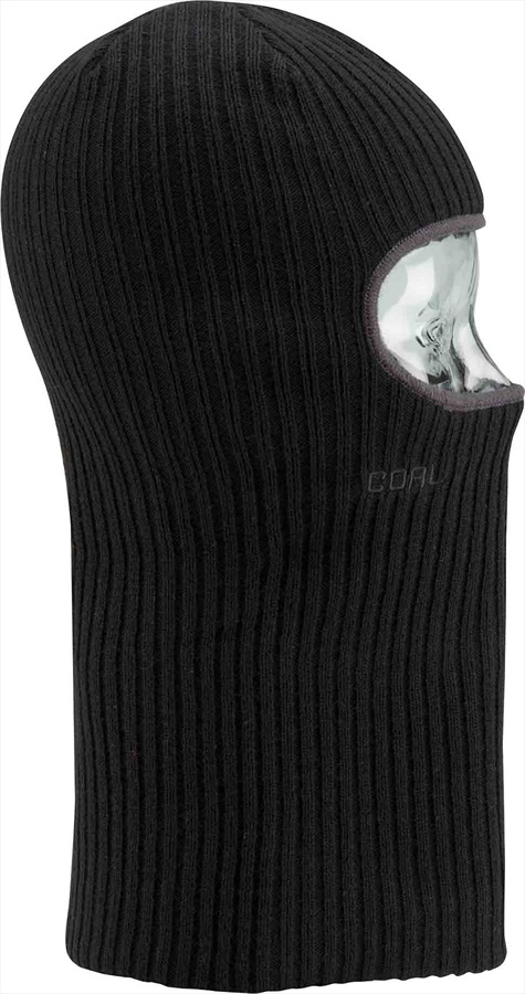 Coal The Knit Clava Ski/Snowboard Balaclava, One Size Black