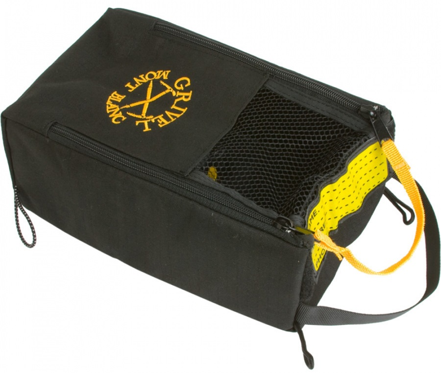 Grivel Gear Safe Climbing Equipment Storage Bag, One Size, Black
