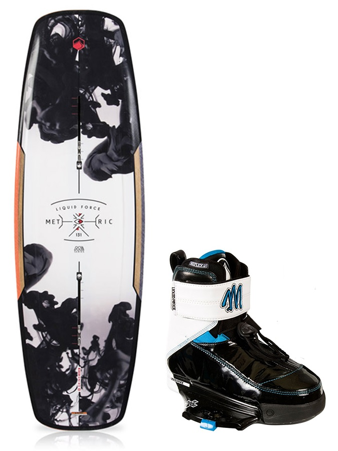 Liquid Force Metric|Melissa Ladies Wakeboard Package, 136|3.5-5.5 Mult