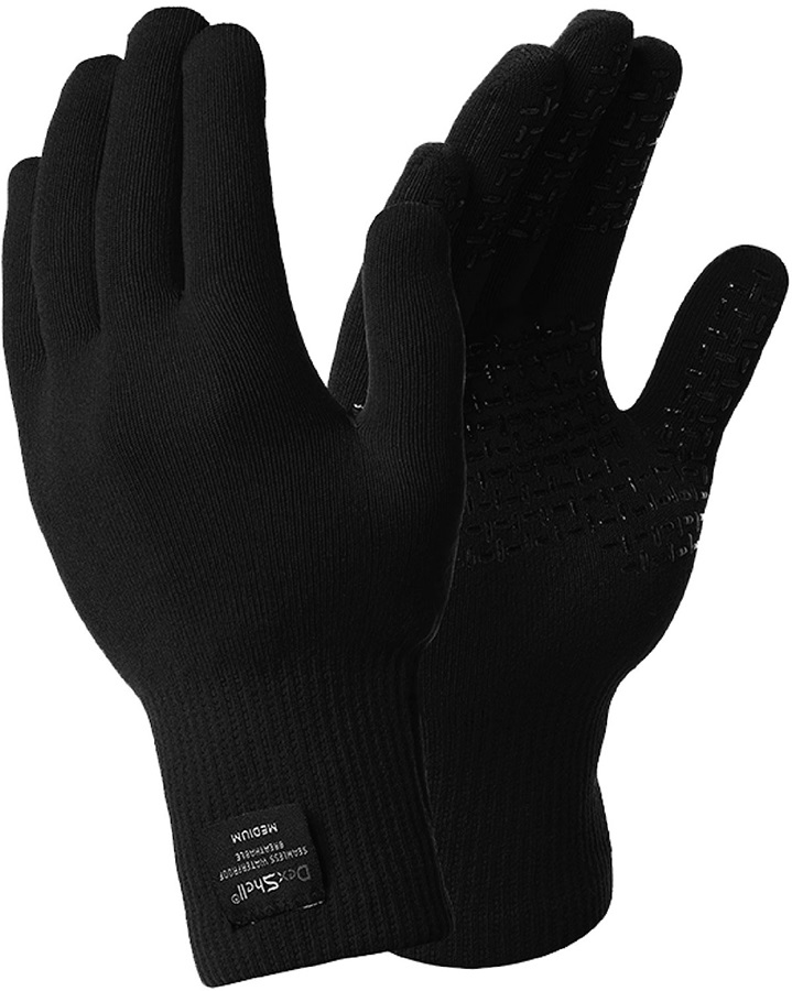 DexShell ThermFit Neo Merino Wool Waterproof Gloves, Small Black