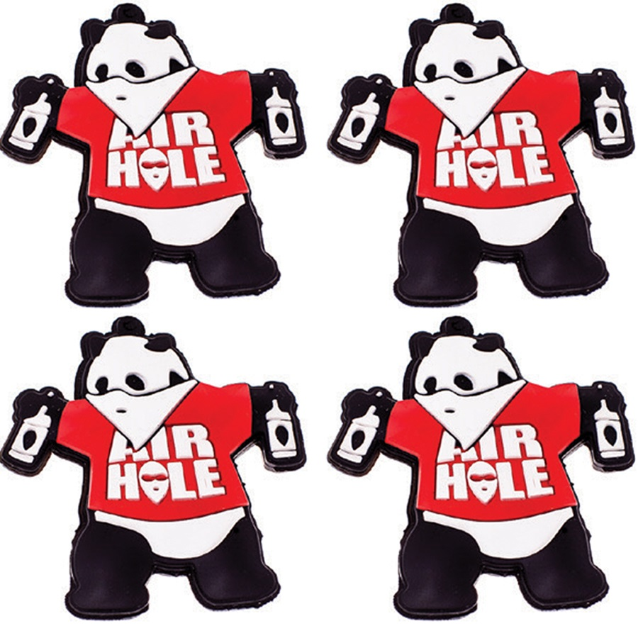Airhole Panda Pack Snowboard Stomp Pad Traction Mat Small X 4