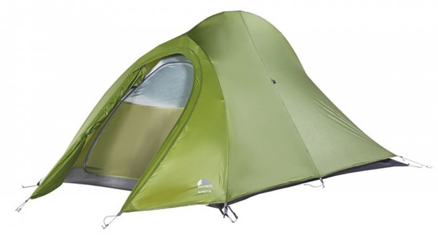 Force Ten Arete 2 Lightweight Mountaineering Tent, 2 Person Green