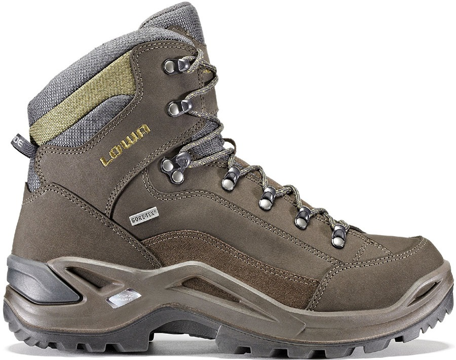 04dc99cdc75258 Lowa Renegade GTX Mid Men's LTR Hiking Boots, UK 9 Slate/Olive