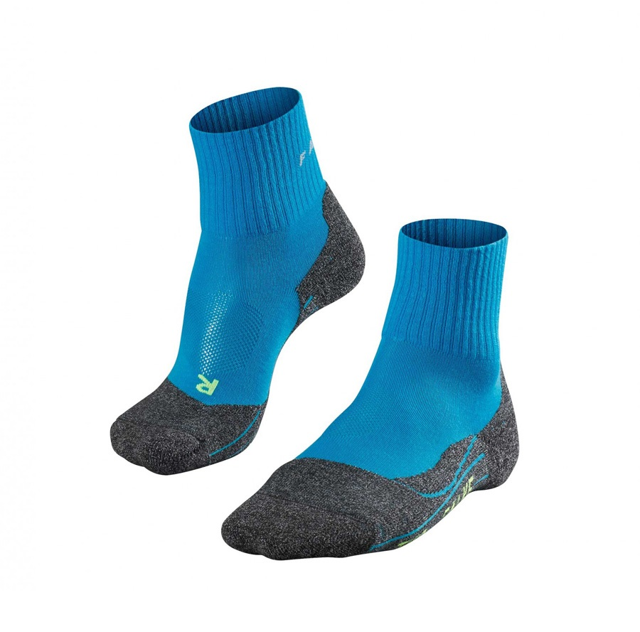 Falke TK2 Short Cool Men's Hiking/Walking Socks UK 9.5-10.5 Blue