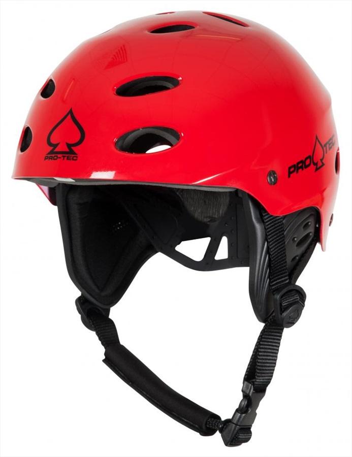 Pro-tec Ace Wake Watersport Helmet, L Red Gloss 2018