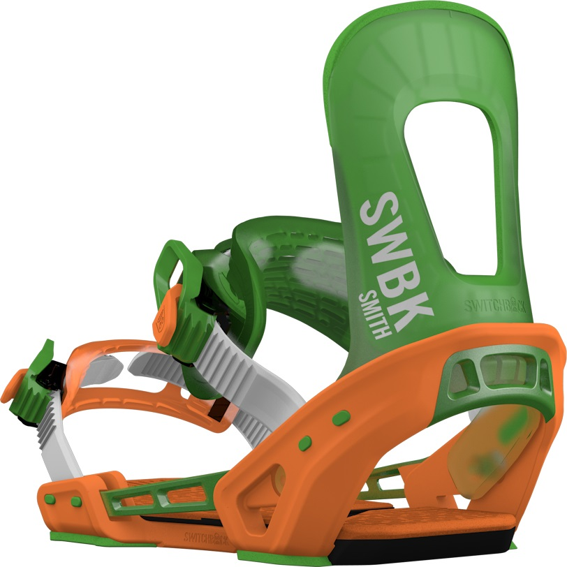 Switchback Smith Snowboard Binding, M-XL Orange 2019