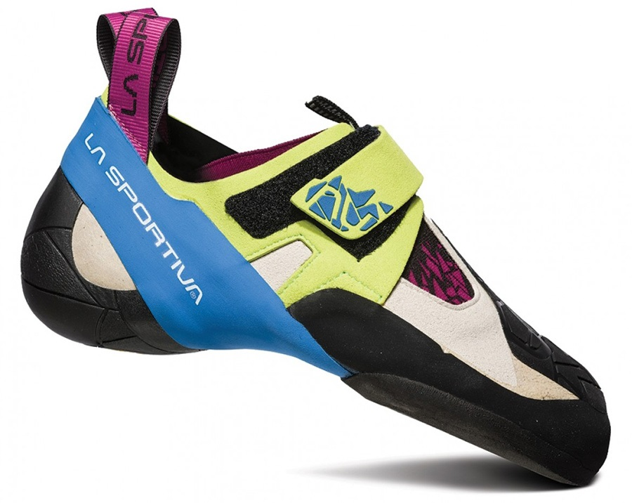 La Sportiva Women's Skwama: UK 1.5+ | EU 34, Green / Blue