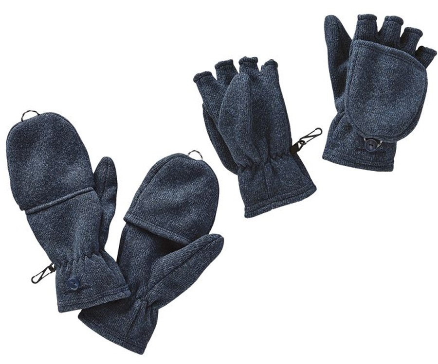 Patagonia Better Sweater Fingerless Mitten Gloves, M Classic Navy