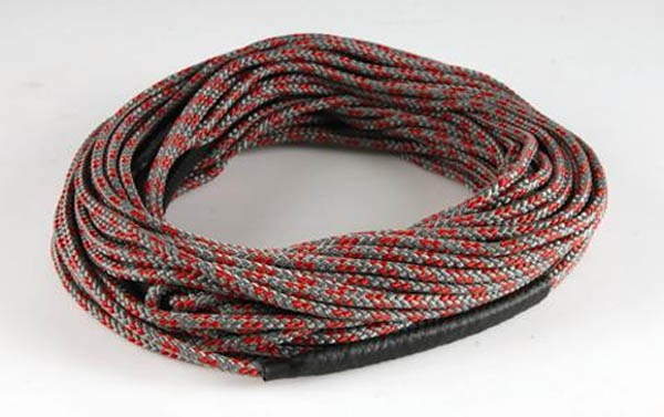 Straight Line U Line Dyneema Wakeboard Line, 65' Grey Red