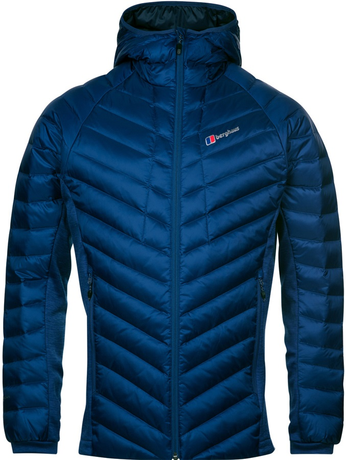 Berghaus Adult Unisex Tephra Stretch Reflect Jacket Down Puffy XL Blue
