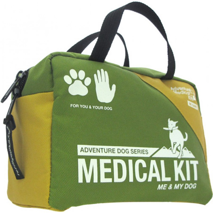 Adventure Medical Kits Me & My Dog Pet First Aid Kit, 27 Items, Green