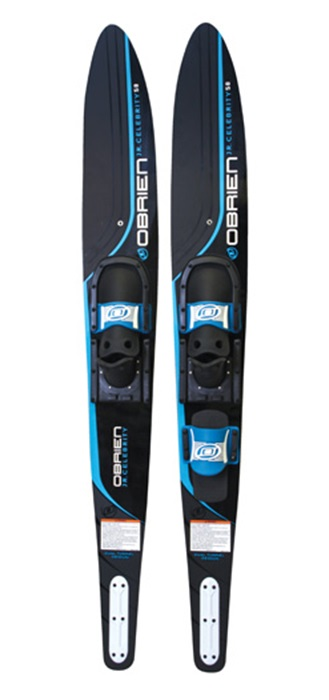"O'Brien Celebrity Jr. Junior Combo Waterski 58"" Black Blue 2016"