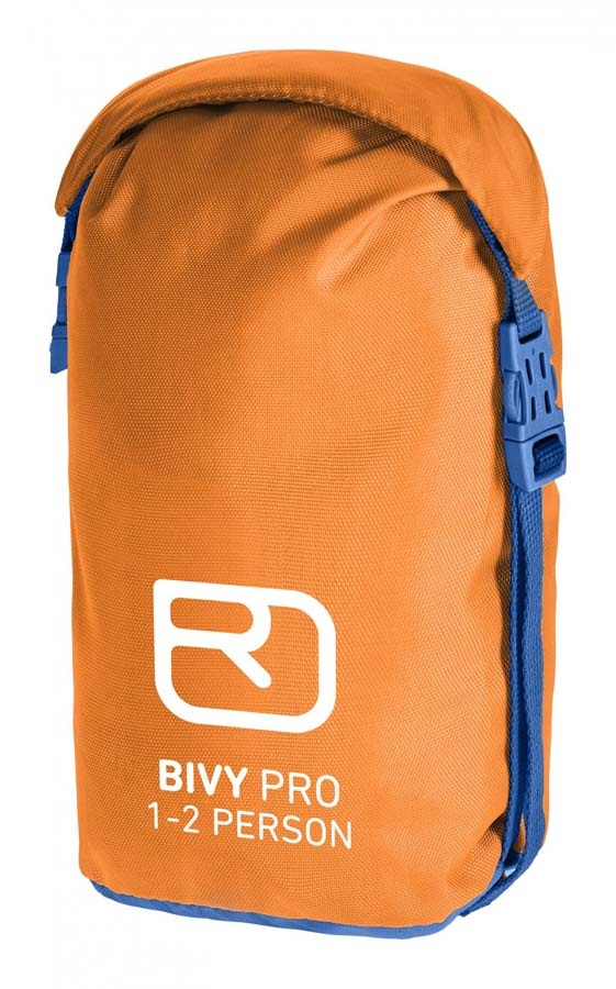Ortovox Bivy Pro Lightweight Survival Bag, 72 X 230 Cm, Orange