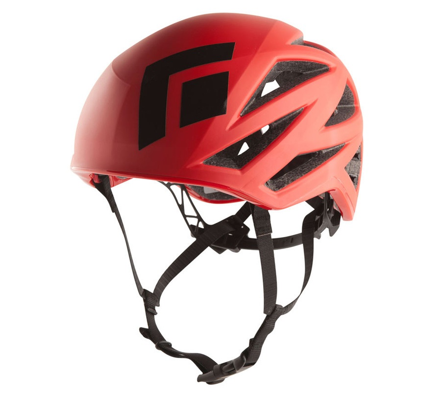 Black Diamond Vapor Alpine/Rock Climbing Helmet M/L Fire Red