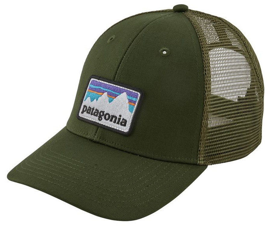 daa6dc3068e Patagonia Shop Sticker Patch LoPro Trucker Hat