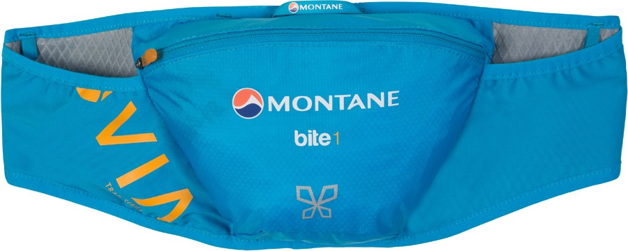 Montane VIA Bite 1 Running Belt, 1L Cerulean Blue