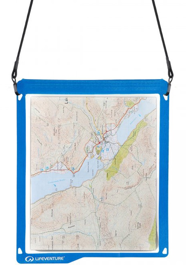 Lifeventure Hydroseal Waterproof Map Case Protective Map Cover