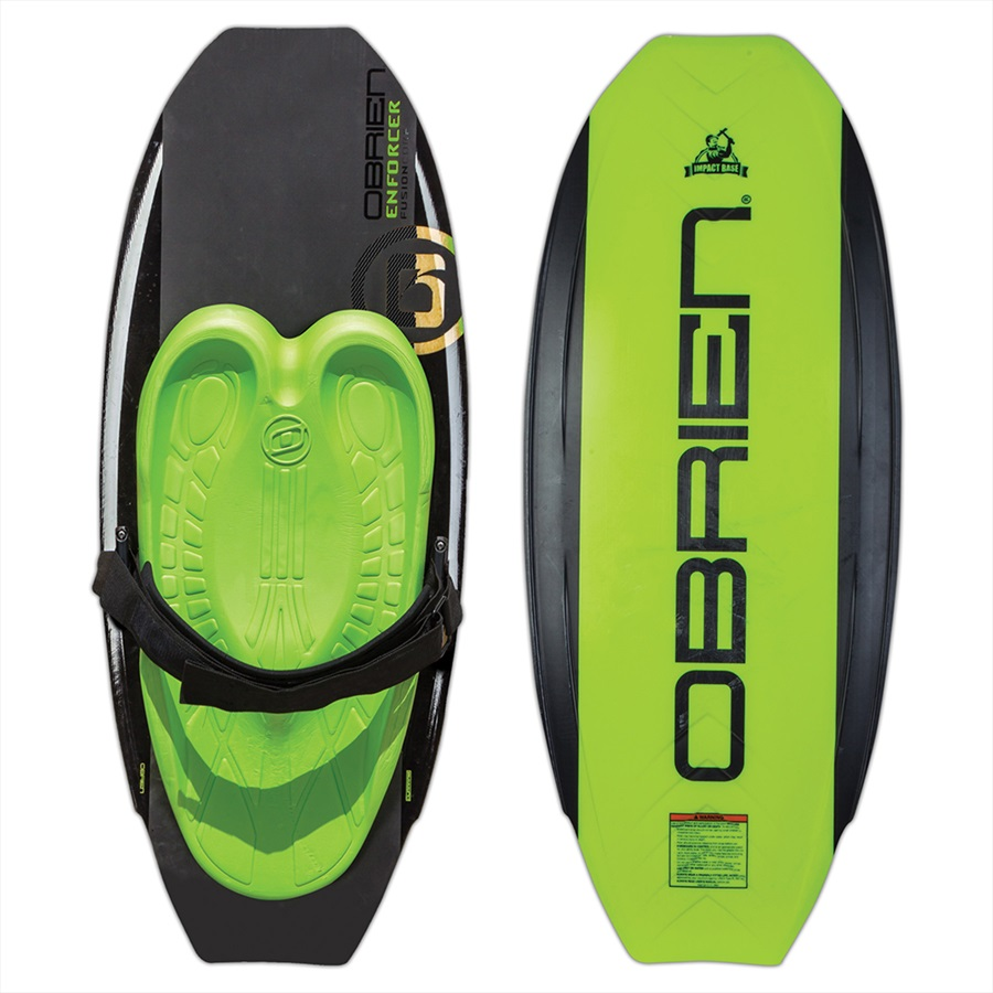 O'Brien Enforcer Park Series Kneeboard, Black Green 2019