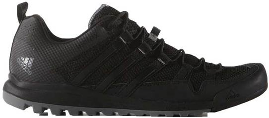 Adidas Terrex Solo Approach/Walking Shoes, UK 10.5 Dark Grey Charcoal
