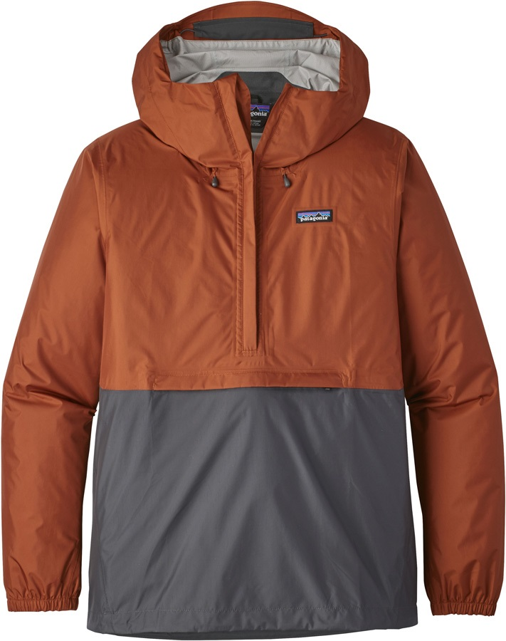 Patagonia Torrentshell Pullover Waterproof Jacket, L Copper Ore