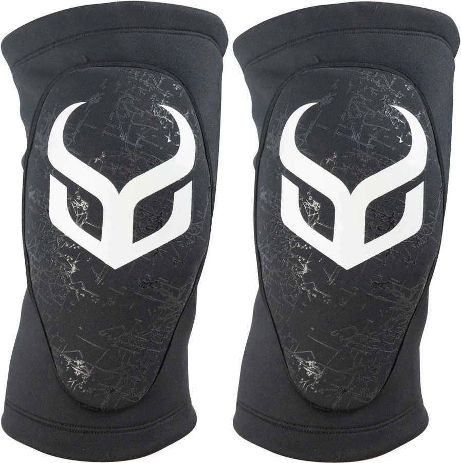 Demon Soft Cap Pro Snowboard/Ski Knee Pads S Black/White