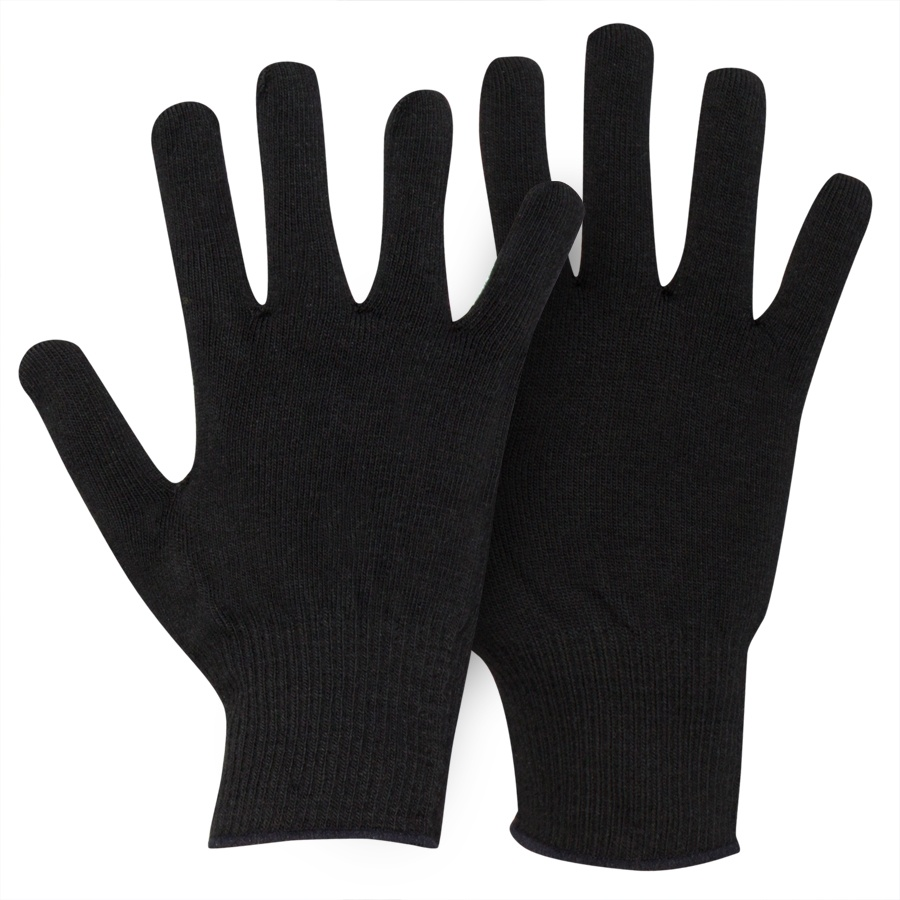 Horizon Verbier Thermolite Thermal Glove Liners Kids Black