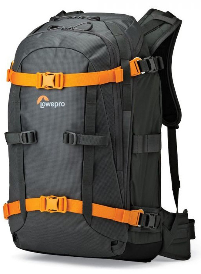 Lowepro Whistler BP 350 AW Snowboard Photography Backpack, 36L Grey