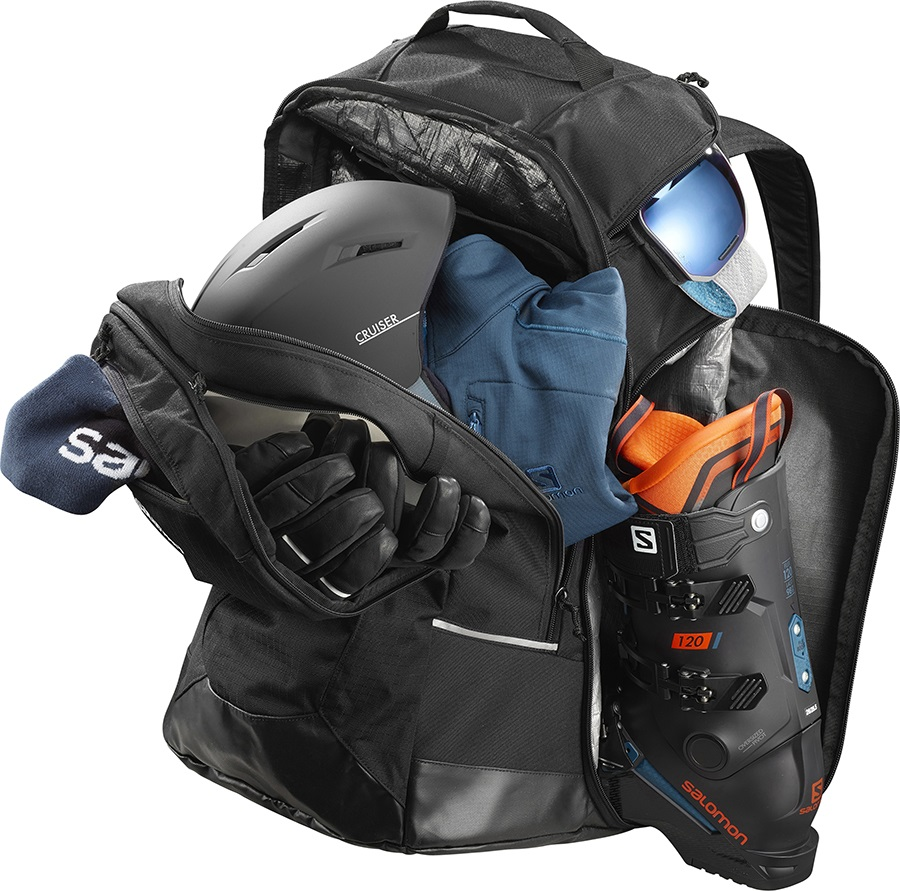 c7e3d8b0a737 Salomon Extend Go-To-Snow Ski Snowboard Backpack