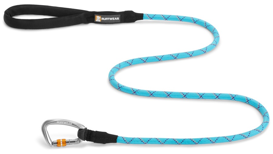 Ruffwear Knot-a-Leash Dog Walking Lead - 1.5m X 7mm, Blue Atoll