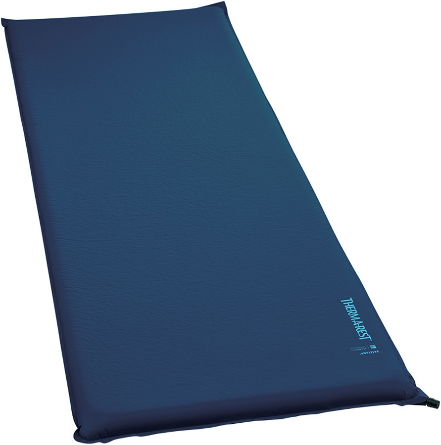 ThermaRest BaseCamp Mattress Self Inflating Airbed, Reg. Poseidon