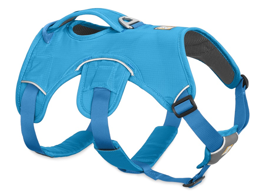 Ruffwear Web Master Active Dog Harness With Handle, L/XL Blue Dusk